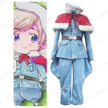 Axis Powers Tino Vainaminen Cosplay Costume any size.