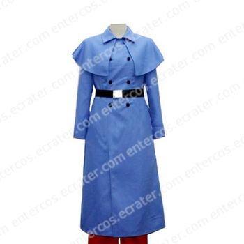 Hetalia Axis Powers Blue Cosplay Costume any size.