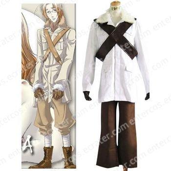 Hetalia Axis Powers Canada Matthew Cosplay Costume any size.