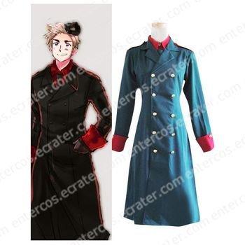 Hetalia Axis Powers Denmark Cosplay Costume any size