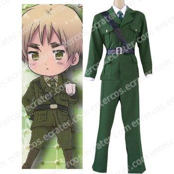 Hetalia Axis Powers England Cosplay Costume any size