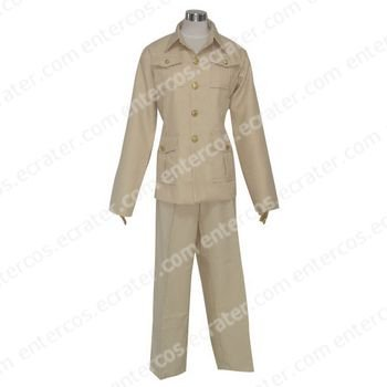 Hetalia Axis Powers France Cosplay Costume  any size