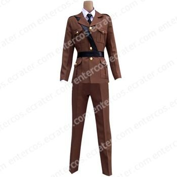 Hetalia Axis Powers France Cosplay Costume 1  any size