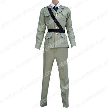 Hetalia Axis Powers Gray England Cosplay Costume any size