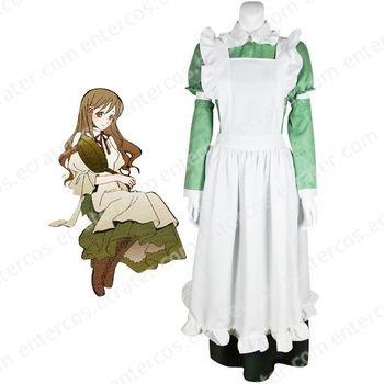 Hetalia Axis Powers Little Italy Maid Cosplay Costume  any size