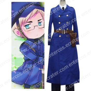 Hetalia Axis Powers Sweden Cosplay Costume  any size
