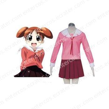 Azumanga Daioh Halloween Cosplay Costume  red  any size