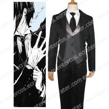 Black Butler Kuro Shitsuji Halloween Cosplay Costume any size