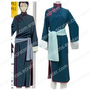 Black Butler Lau Cosplay Costume any size