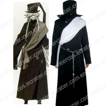 Black Butler Undertaker Halloween Cosplay Costume any size