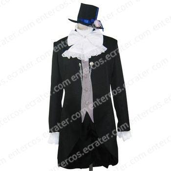 Kuroshitsuji Ciel Phantomhive Cosplay Costume any size