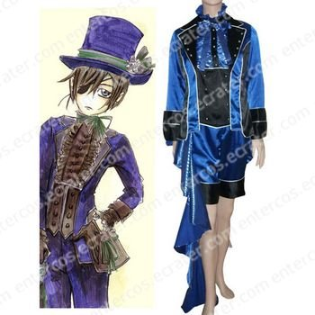 Kuroshitsuji Ciel Phantomhive Halloween Cosplay Costume any size
