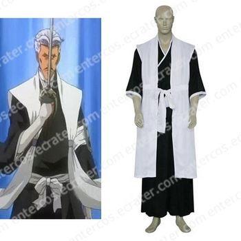 Bleach 1st Division Lieutenant Sasakibe Chojiro Cosplay Costume any size