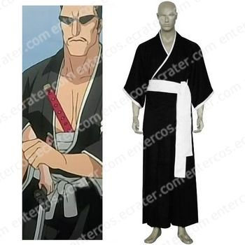 Bleach 7th Division Lieutenant Iba Tetsuzaemon Cosplay Costume any size