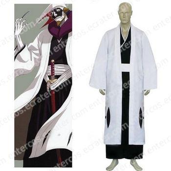 Bleach 12th Division Captain Kurotsuchi Mayuri Cosplay Costume any size