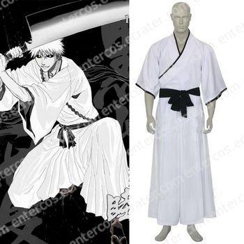 Bleach Ichigo Kurosaki Non-Bankai Hollow Form Halloween Cosplay Costume any size