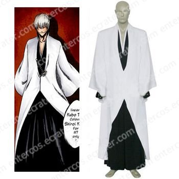 Bleach Ichimaru Gin Arrancar Cosplay Costume any size