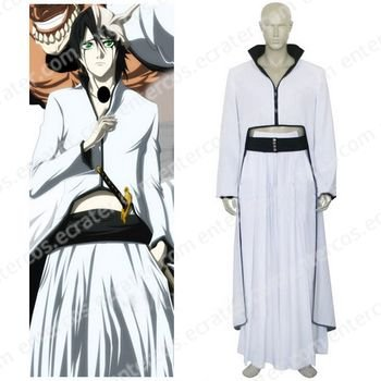 Bleach Ulquiorra Cosplay Costume  any size.