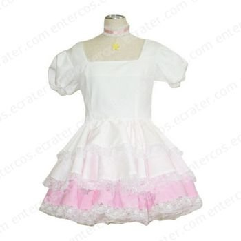 Cardcaptor Sakura Sakura Cosplay Dress  any size.