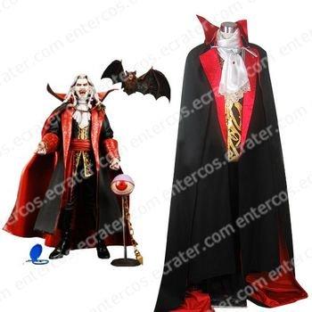 Castlevania Vampire Dracula Halloween Cosplay Costume any size.