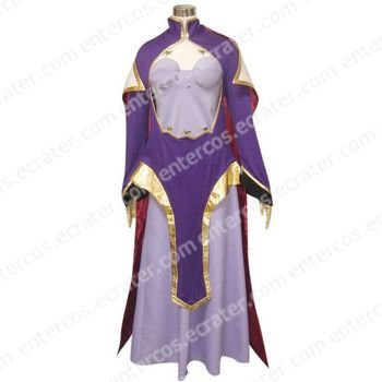 Code Geass Lelouch of the Rebellion Guinevere su Britannia Cosplay Costume any size.