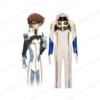 Code Geass Suzaku Cosplay Costume  any size.
