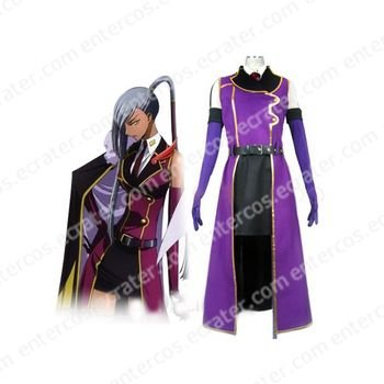 Code Geass Villetta Nu Cosplay Costume any size.