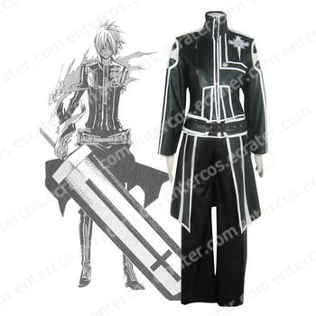 D.Gray Man Allen Walker Cosplay Costume any size.