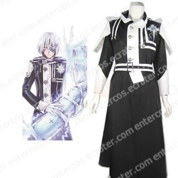 D.Gray Man Allen Walker Cosplay Costume Type B any size.