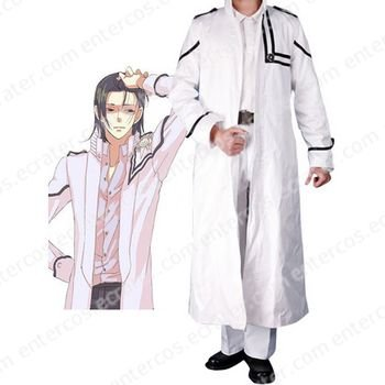 D.Gray-man Cosplay Costume 4  any size.