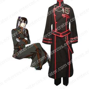 D.Gray-man Kanda Yuu Cosplay Costume   any size.