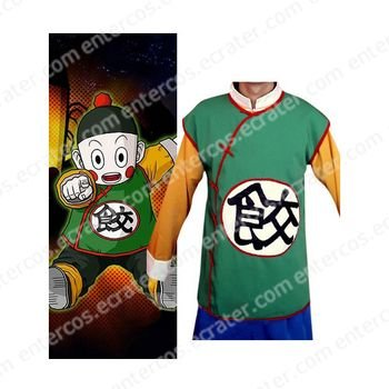 Dragon Ball Chiao-tzu Cosplay Costume  any size.
