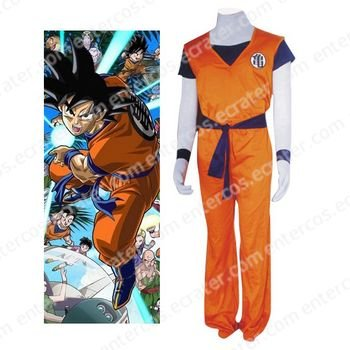 Dragon Ball Kame Hame Practising Clothing Halloween Cosplay Costume  any size.