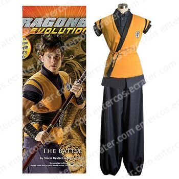 Dragon Ball Movie Goku Cosplay Costume any size.
