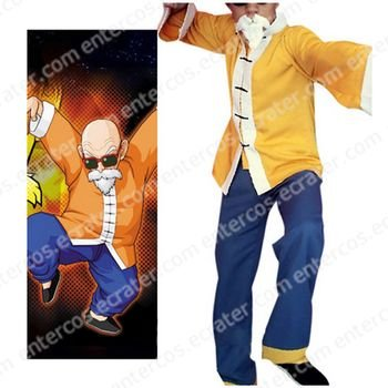 Dragon Ball Muten-Roshi Cosplay Costume any size.
