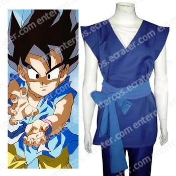 Dragon Ball Son Gohan Cosplay Costume   any size.