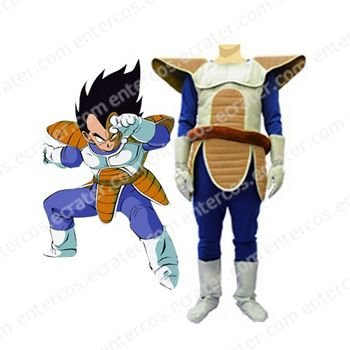 Dragon Ball Vegeta Cosplay Costume   any size.