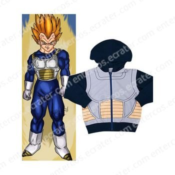 Dragon Ball Z Vegeta Cosplay Costume 2  any size.