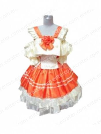 Frontier Ranka Lee Lolita Dress Cosplay Costume any size.