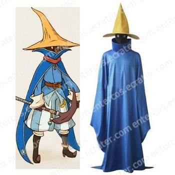 Final Fantasy Black Mage Cosplay Costume any size.