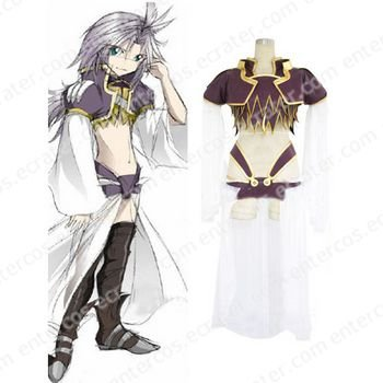 Final Fantasy IX-9 Kuja Halloween Cosplay Costume any size.