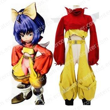Final Fantasy IX Eiko Carol Cosplay Costume any size.