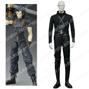 Final Fantasy VII Crisis Core Zack Fair Cosplay Costume  any size.