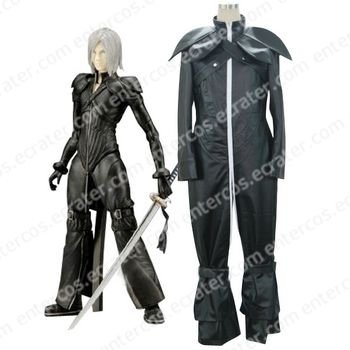 Final Fantasy Vii Kadaj Halloween Cosplay Costume  any size.