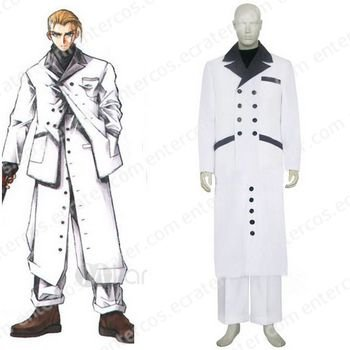 Final Fantasy VII Rufus Shinra Cosplay Costume any size.
