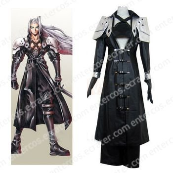 Final Fantasy VII Sephiroth Deluxe Halloween Cosplay Costume  any size.