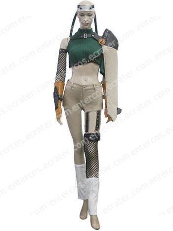 Final Fantasy VII Yuffie Kisaragi Cosplay Costume any size.