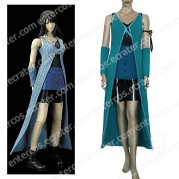Final Fantasy VIII Rinoa Halloween Cosplay Costume any size.