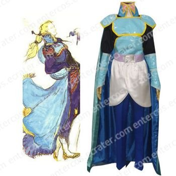 Finial Fantasy VI Edgar Roni Figaro Cosplay Costume  any size.