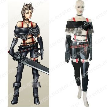 Final Fantasy X-2 Paine Halloween Cosplay Costume  any size.